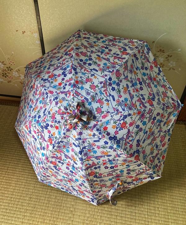 着物リメイク 日傘始めました